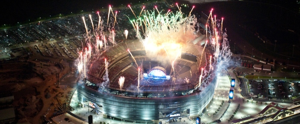 Giants Stadium Fireworks