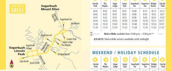 Mad Bus Schedule 2011